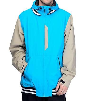 Neff Squad Cyan chaqueta de snowboard 10K