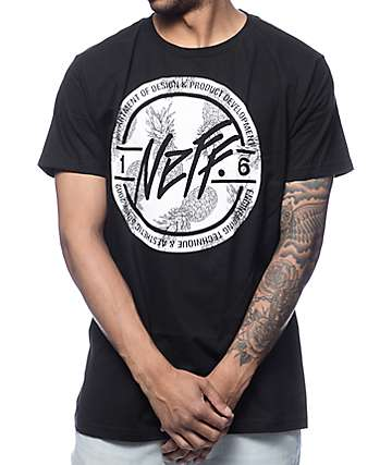 Neff Stamper Filled Black T-Shirt