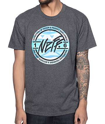 Neff Taylor Heather Charcoal T-Shirt