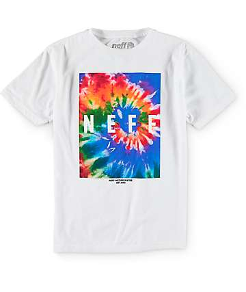 Neff Tie Dye Howie T-Shirt