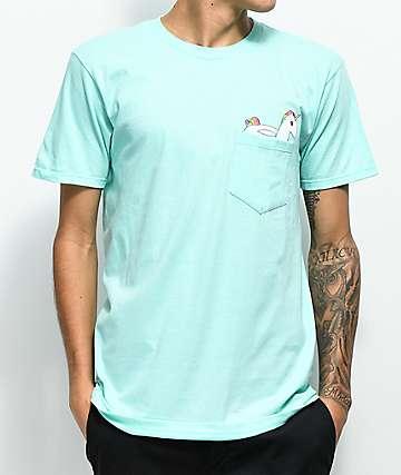 Neff Unicorn Pocket Mint T-Shirt