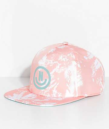 Neff Wavy Pink Snapback Hat