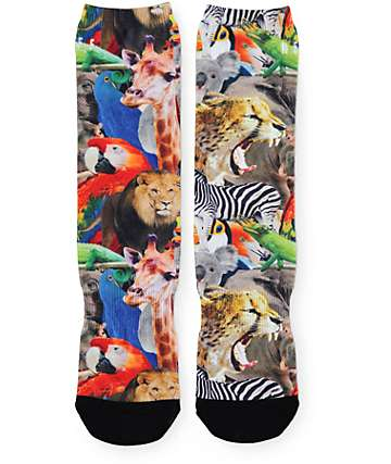 Neff Wildlife Crew Socks