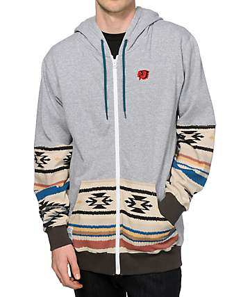 Neff Winter Camp Zip Up Hoodie