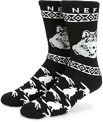 Neff Wolf Crew Socks