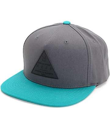 Neff X Cap gorra snapback en verde azulado
