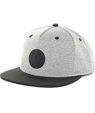 Neff XZ Heather Grey & Black Snapback Hat