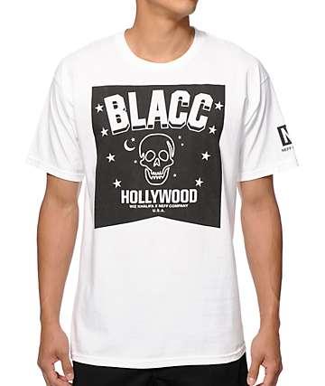 Neff x Blacc Hollywood Blacc Skulls & Stars T-Shirt