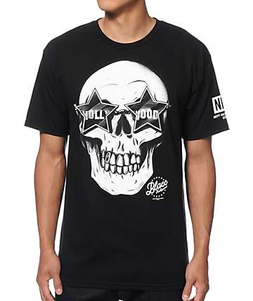 Neff x Blacc Hollywood Super Skull T-Shirt