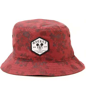 Neff x Disney Mickey Wallpaper Bucket Hat