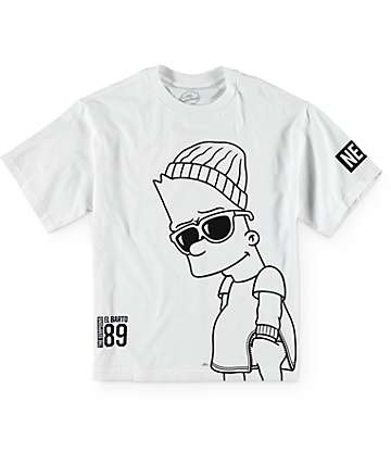 Neff x The Simpsons Boys Big Steeze T-Shirt