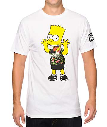 Neff x The Simpsons I Didn't Do It T-Shirt