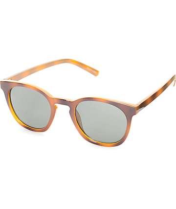Nelson Rounded Tortoise Wayfarer Sunglasses