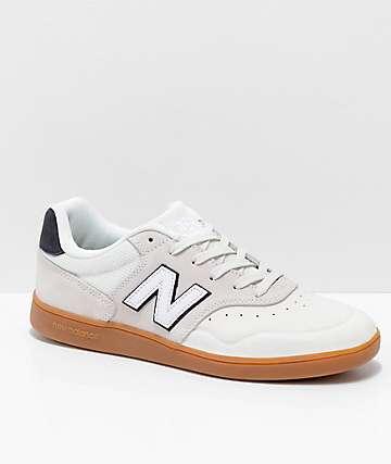 New Balance Numeric 288 Sea Salt zapatos de skate en blanco y goma