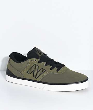 New Balance Numeric 358 Arto Military Green & Black Shoes