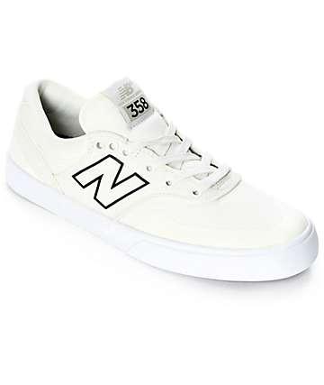 New Balance Numeric 358 Arto zapatos en blanco y negro