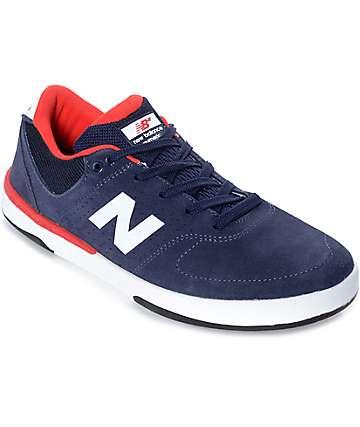 New Balance Numeric 533 Stratford zapatos en azul marino