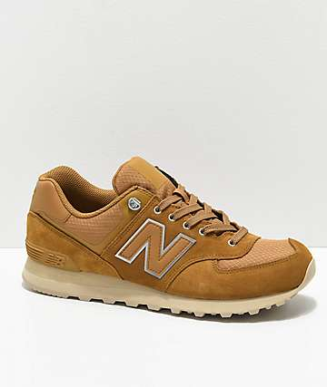 New Balance Numeric 574 Outdoor Nutmeg & Sand Shoes
