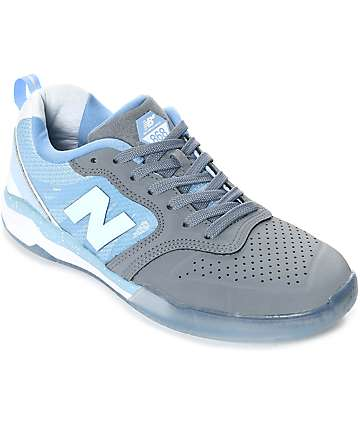 New Balance Numeric 868 Gun Metal & Heritage Blue Shoes