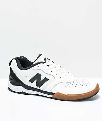New Balance Numeric 868 Sea Salt & Black Skate Shoes