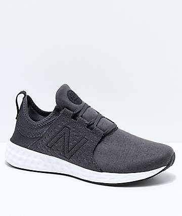 New Balance Numeric Fresh Foam Cruz Black & White Shoes