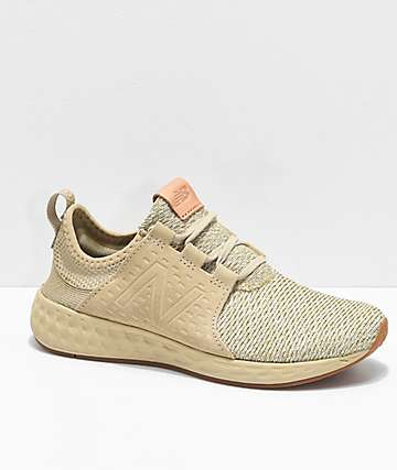 New Balance Numeric Fresh Foam Cruz Linseed & Silver Shoes