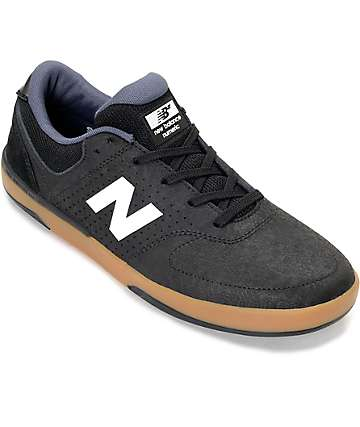 New Balance Stratford 533 zapatos en blanco, negro y goma