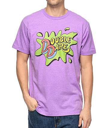 Nickelodeon Double Dare Purple T-Shirt