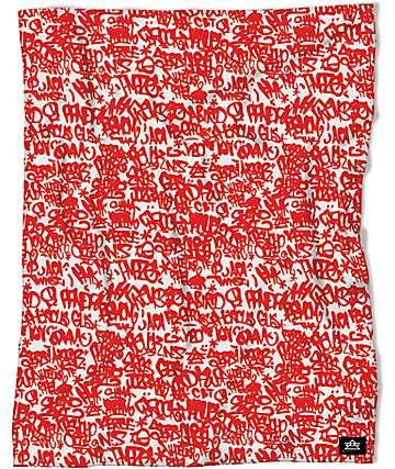 Night Shift Public Domain Red 50x 60 Throw Blanket