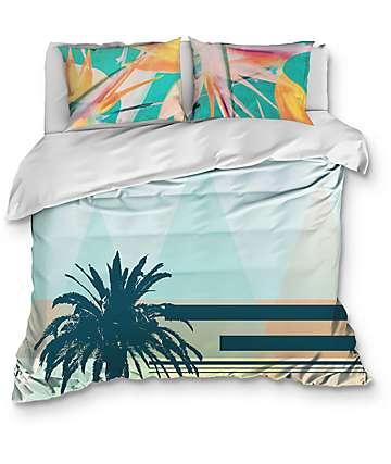 Night Shift Tropidelica Queen Comforter Set