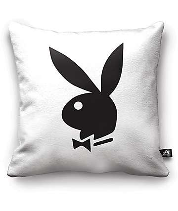 Night Shift X Playboy Classic Black & White Bunny Pillow