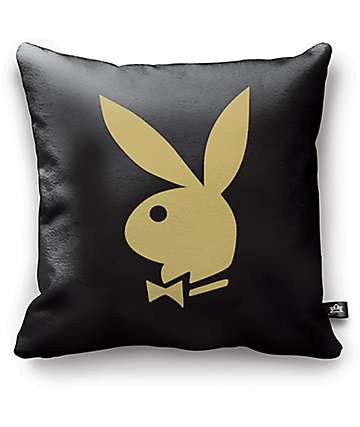 Night Shift X Playboy Classic almohadilla en negro y color oro