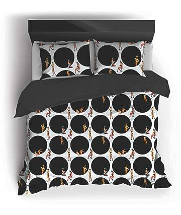 Night Shift X Playboy Rabbit Hole Queen Comforter Set