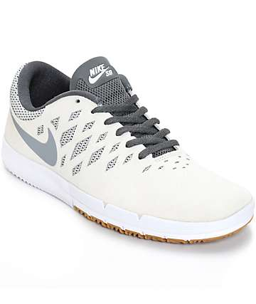 Nike Free SB Sail & Cool Grey Shoes