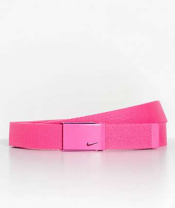 Nike Hot Pink Web Belt