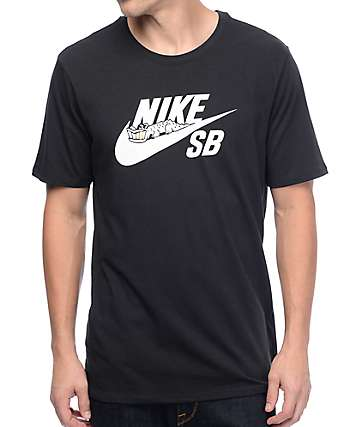 Nike SB Bolt Black T-Shirt