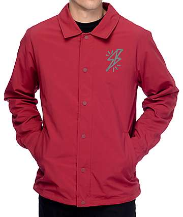 Nike SB Bolt Team Red Coaches Jacket