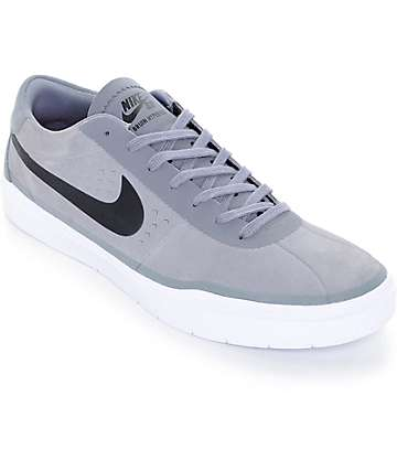 Nike SB Bruin Hyperfeel Cool zapatos de skate en gris y negro