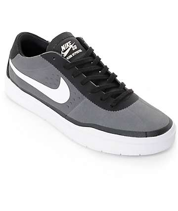 Nike SB Bruin Hyperfeel Dark Grey & White Skate Shoes