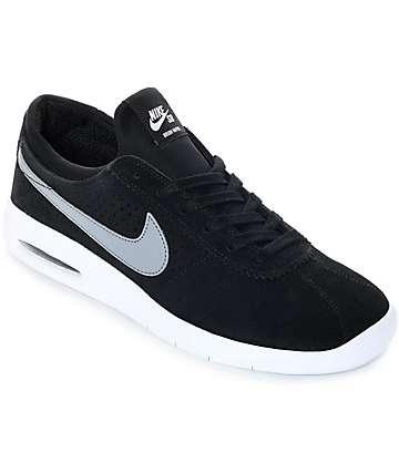 Nike SB Bruin Vapor Air Max zapatos de skate en gris y negro