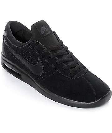 Nike SB Bruin Vapor Air Max zapatos de skate en negro