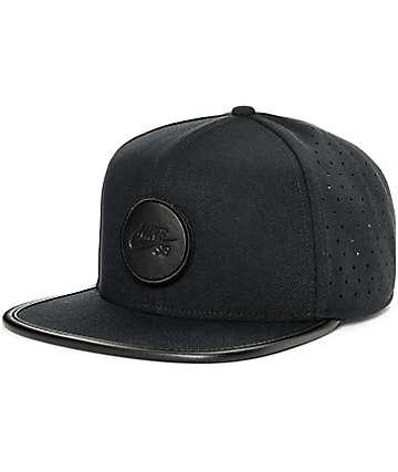 Nike SB Dri-Fit Arobill Black Snapback Hat