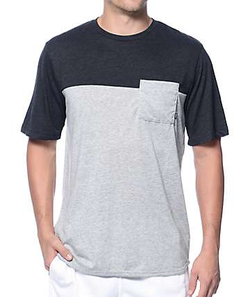 Nike SB Dri-Fit Blocked Grey Pocket T-Shirt