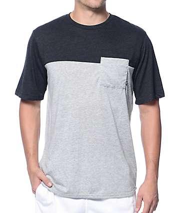 Nike SB Dri-Fit Blocked Grey Pocket T-Shirt