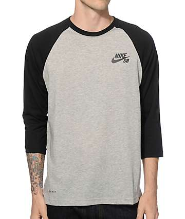 Nike SB Dri-Fit Crew Baseball T-Shirt