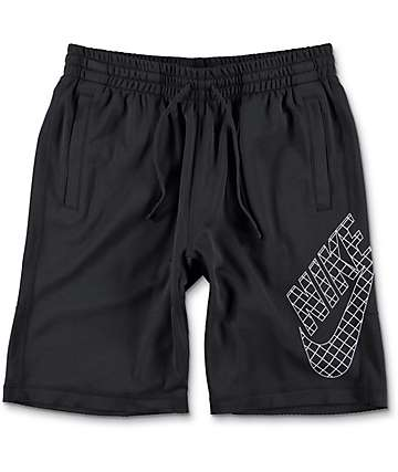 Nike SB Dri-Fit Grid Sunday Black Shorts
