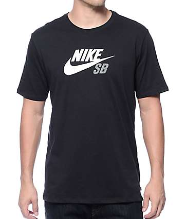 Nike SB Dri-Fit Icon Logo Black T-Shirt