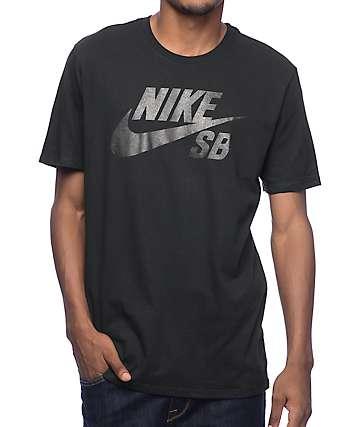 Nike SB Dri-Fit SB Logo camiseta negra