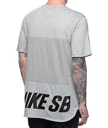 Nike SB Dri-Fit Skyline Cool Energy Heather Obsidian T-Shirt