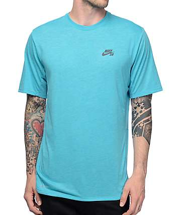 Nike SB Dri-Fit Skyline Cool GFX Turquoise T-Shirt